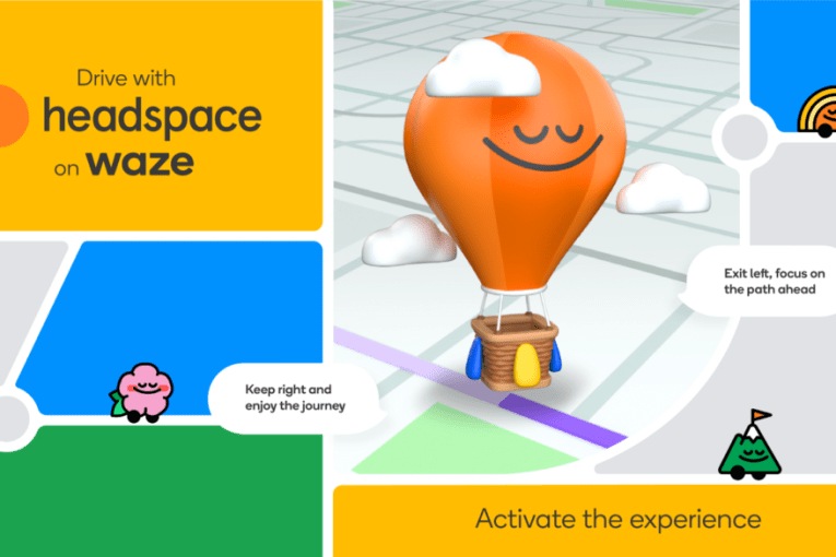 Waze taps Headspace to ease your road rage and traffic jam blues