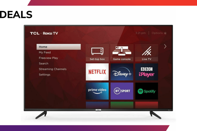 This 50-inch TCL 4K TV with Roku built-in is now just £299.99