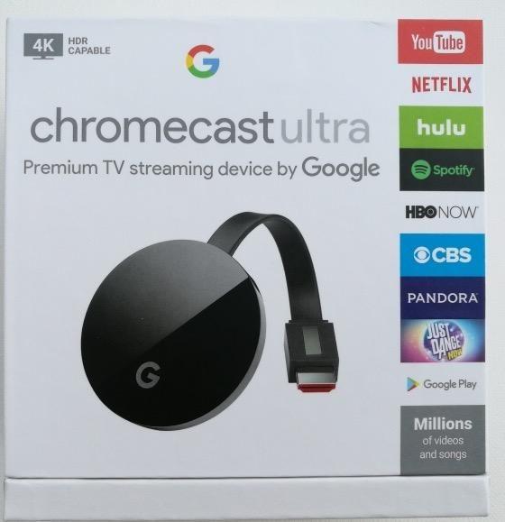 كروم كاست الترا Chromecast Ultra