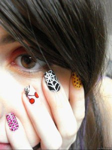 cute nail art profile pic