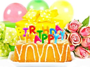 birthday cake with flowers facebook profile pictures