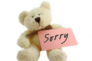 sorry with teddybear facebook profile pictures