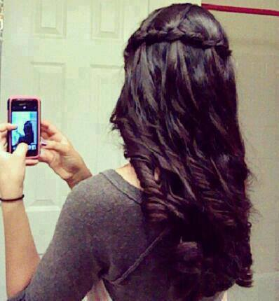 Beautiful hairs girls facebook profile pictures