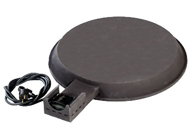 Drum base heater