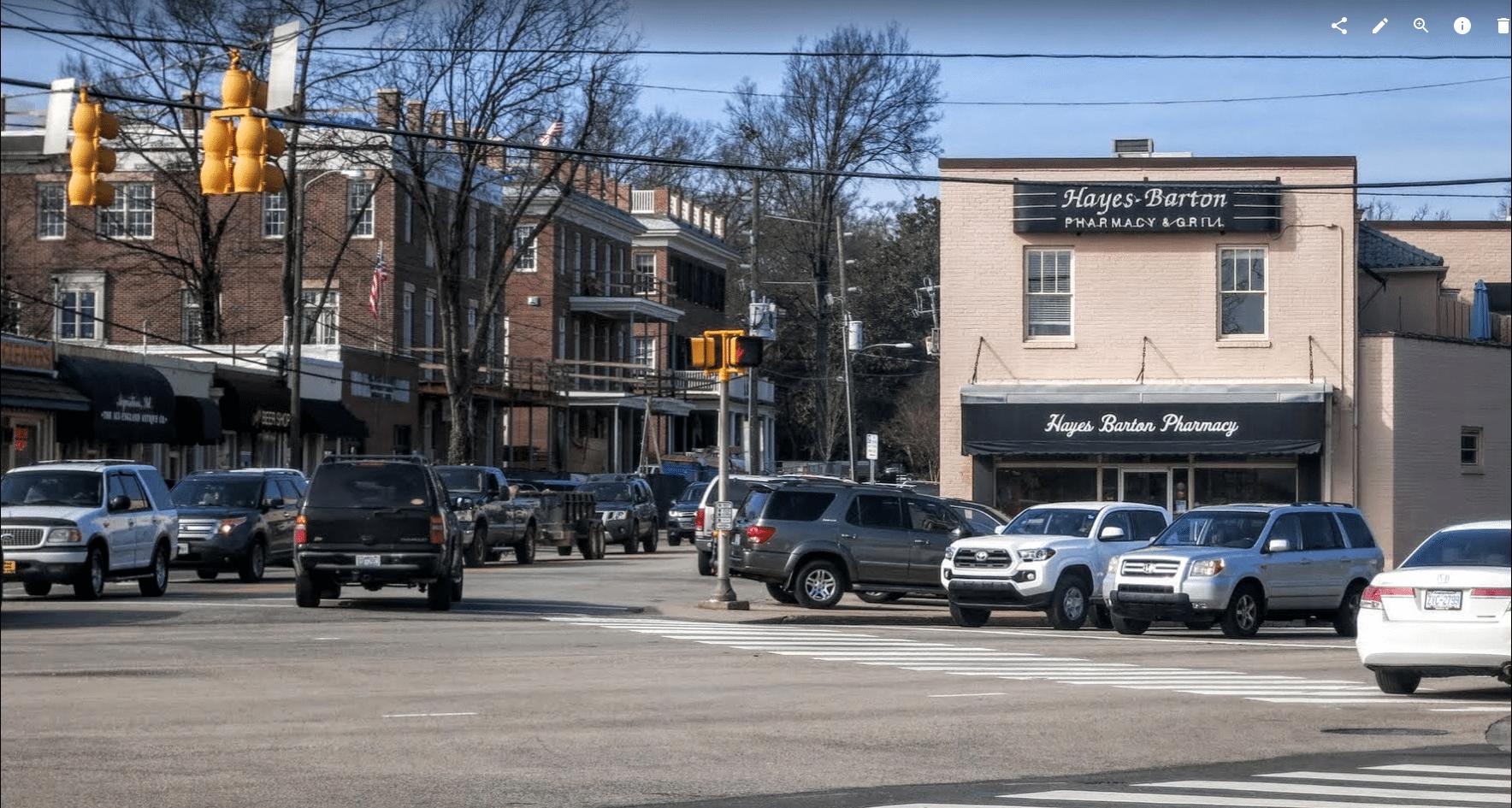 Five Points Neighborhood, Inside-the-Beltline, Hayes Barton Pharmacy