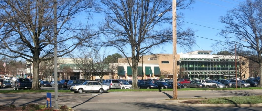 Best Raleigh Neighborhoods, Hillsborough Neighborhood, Cameron Village. Fresh Market and Public Library