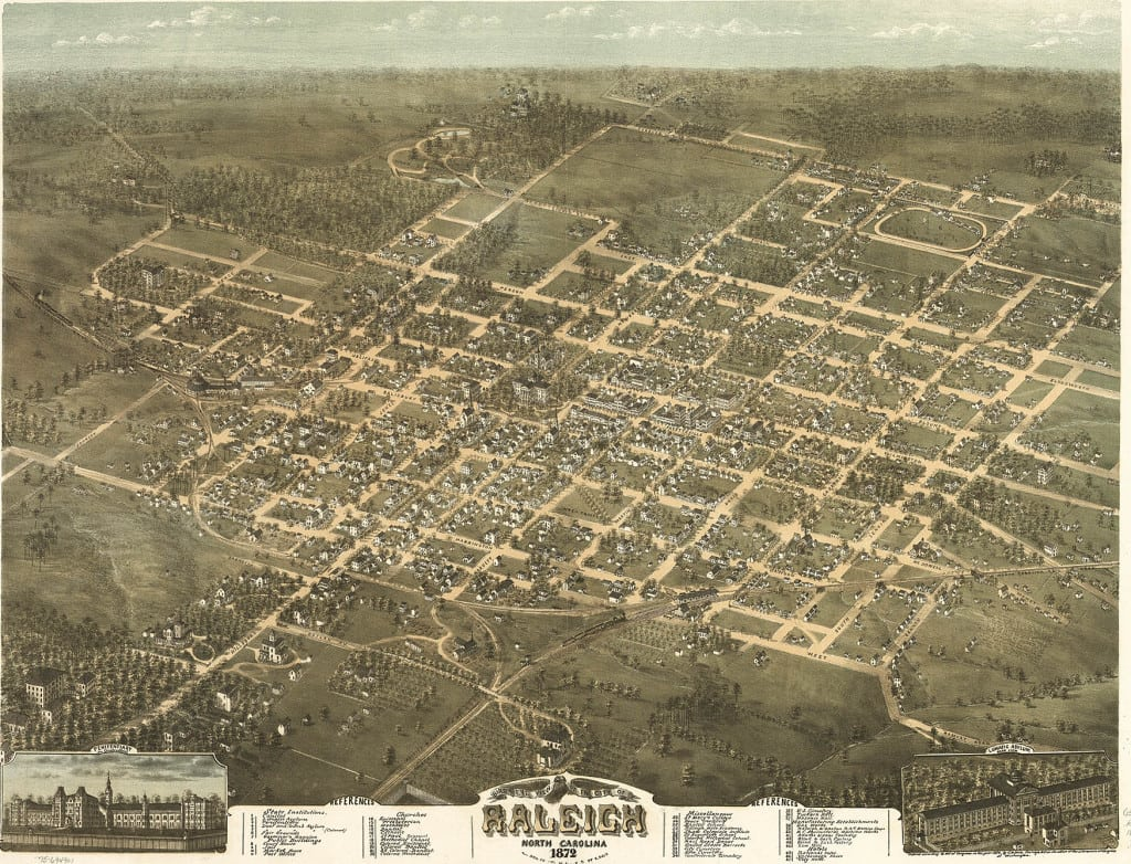 Raleigh, in 1872