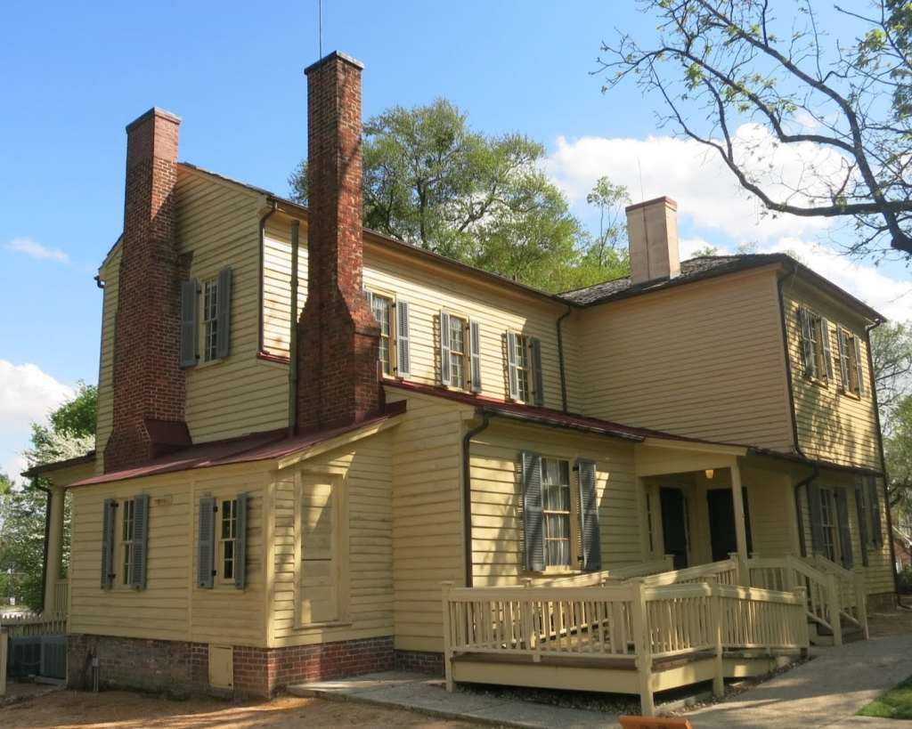 Mordecai House Ca 1785. Oldest House in Raleigh on its Original Foundation, Best Raleigh Neighborhoods, Inside the Beltline, Mordecai