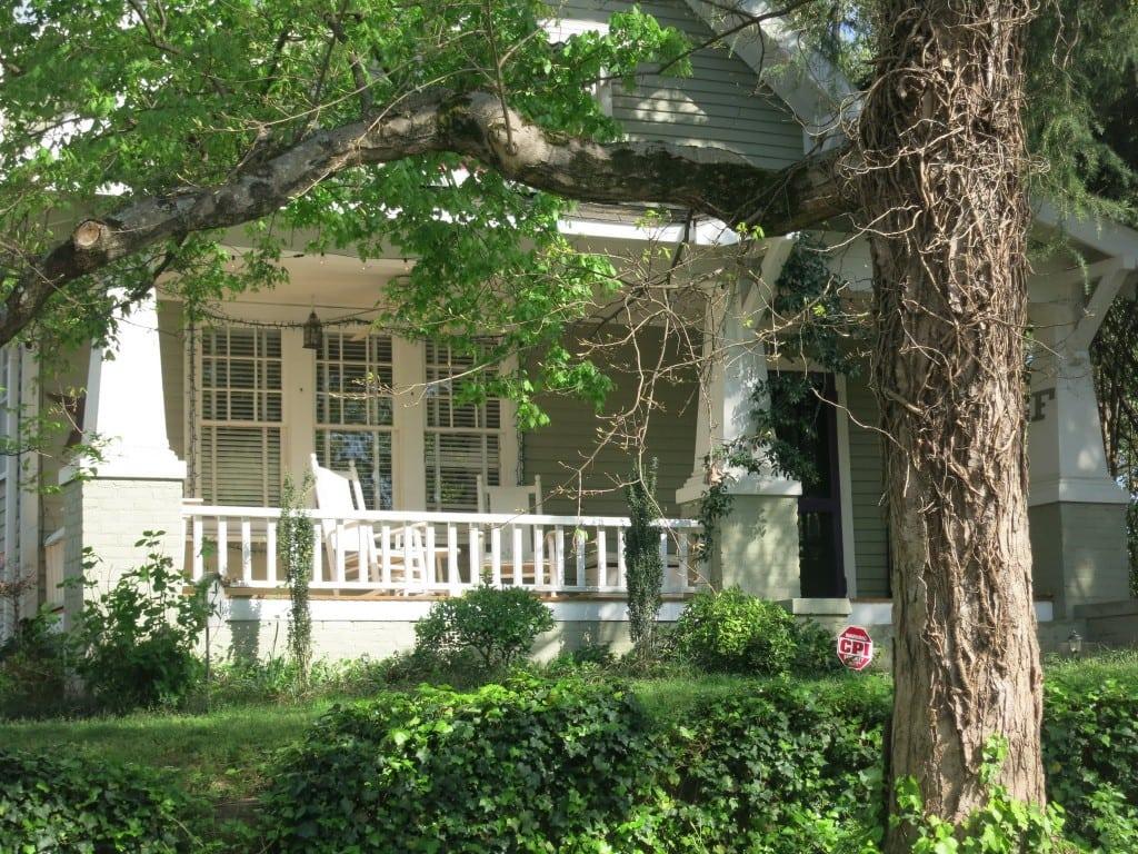 Corner of Benjamin and Glascock Streets, Best Raleigh Neighborhoods, Inside-the-Beltline, Mordecai