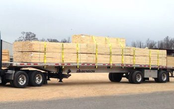 lumber flatbed trucking in ontario