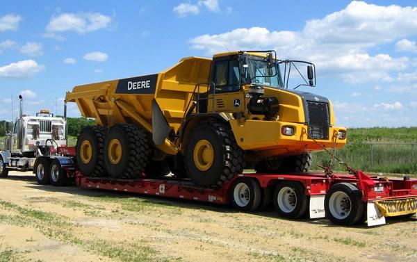 oversize equipment trucking canada