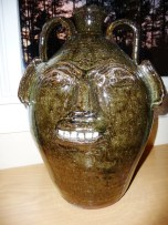 Catawba Valley Potter Burlon Craig Face Jug