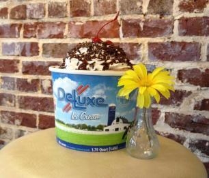 Mooresville Ice Cream Company DeLux Ice Cream parlor
