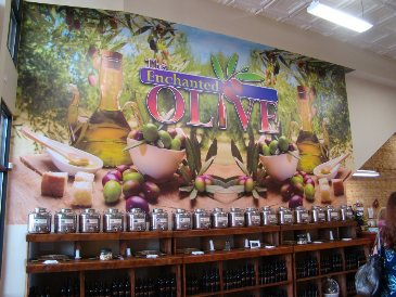 The Enchanted Olive in Historic Downtown Mooresville
