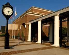 The Charles Mack Citizen Center in Historic Downtown Mooresville