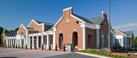 Newly expanded Mooresville Public Library in Historic Downtown Mooresville