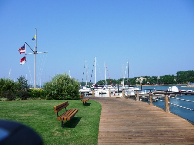 The Peninsula Yacht Club on Lake Norman