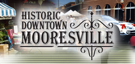 Historic Downtown Mooresville in Lake Norman