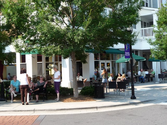 Birkdale Village in Huntersville Lake Norman