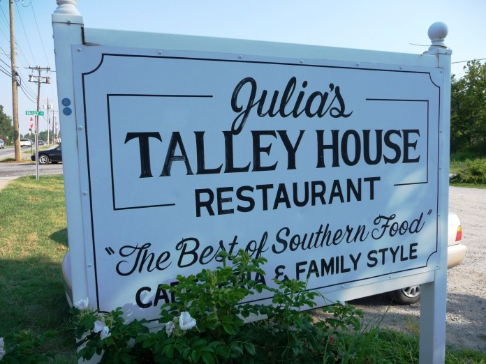 Julias Tally House Restaurant in Troutman