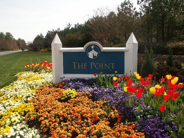The Point and Trump National Golf Club Entance