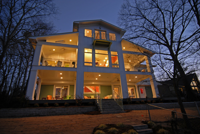 "Lake Norman ""green"" waterfront Home"