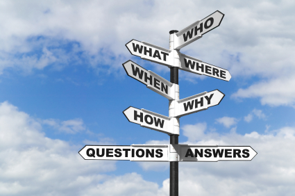 Lake Norman Real Estate Questions and Answers signpost