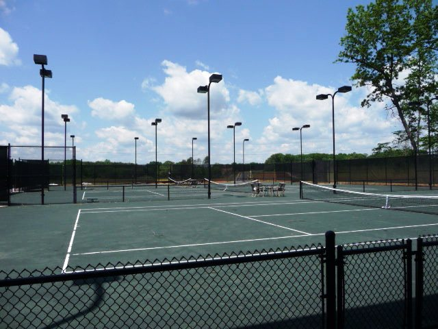 8 New clay tennis courts at The Club at West Port Lake Norman