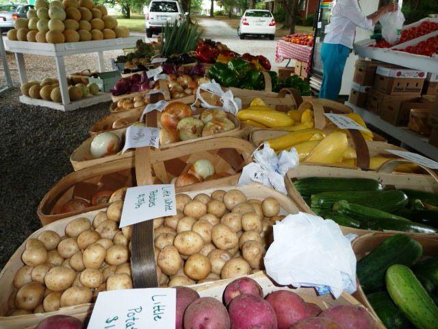 Fresh vegetables at Josh's Farmers Market P1020695