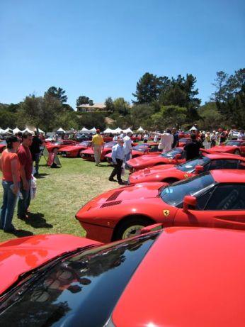 Ferrari's and More Ferraris!