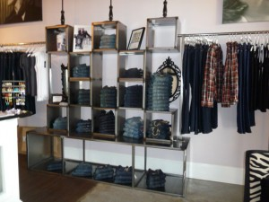 The Jean Cube at Lavendar Boutique in Mooresville