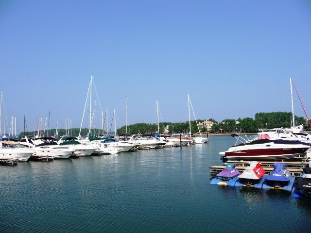 Marina at The Peninsula Club on Lake Norman