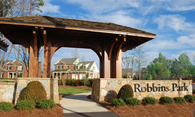 Lake Norman new community Robbins Park