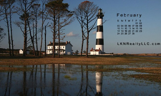 Lake Norman Real Estate's February 2013 Calendar