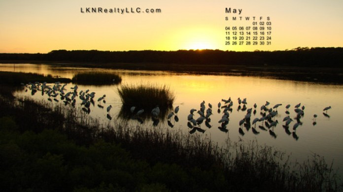Lake Norman Real Estate's May 2014 Calendar