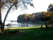 Autumn Colors on Lake Norman Shoreline