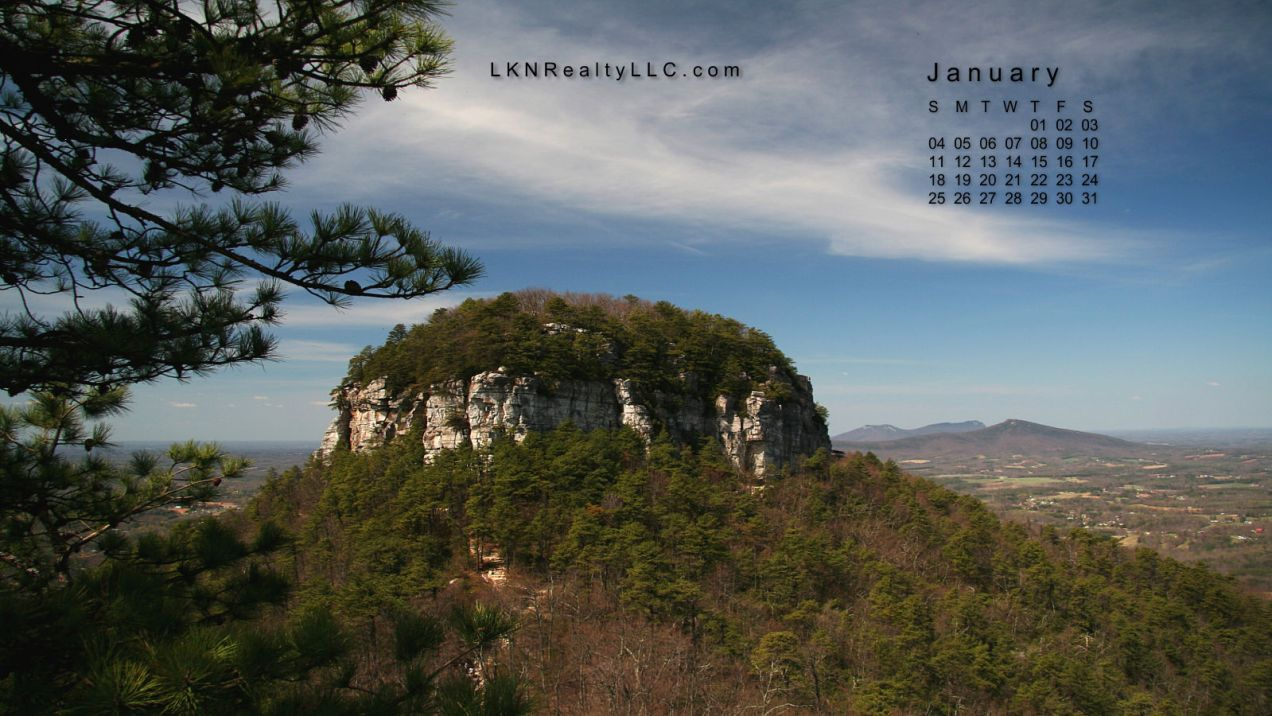 Lake Norman Real Estate's Desktop Calendar  January 2015