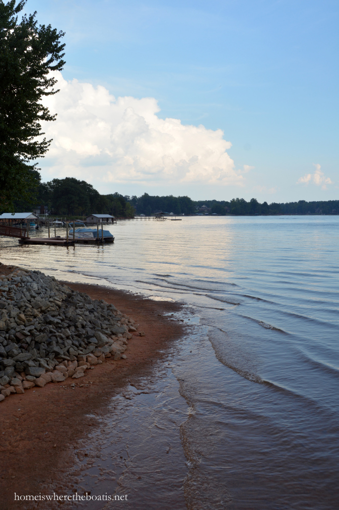 Lake Norman water levels September 2015
