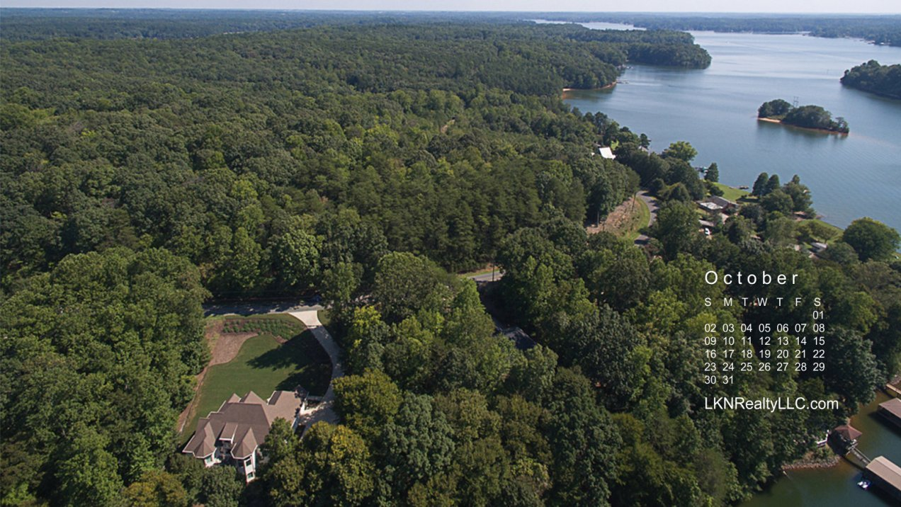 Aerial photo of Lake Norman