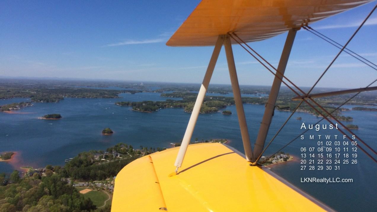 Lake Norman Aerial photo calendar