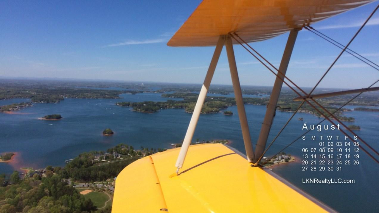 Lake Norman Aerial photo calendar