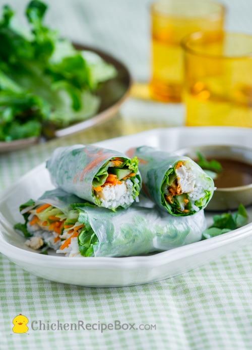 Lean Cuisine Craveables Spring Rolls
