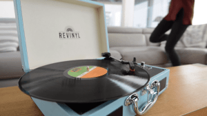 Best Portable Record Player With Built-In Speakers