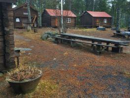 High Coast trail stugas: Mäjabodarna Stugas