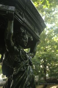 Detail of a Wallace fountain: charity