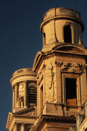 Panthéon in the late afternoon sunlight