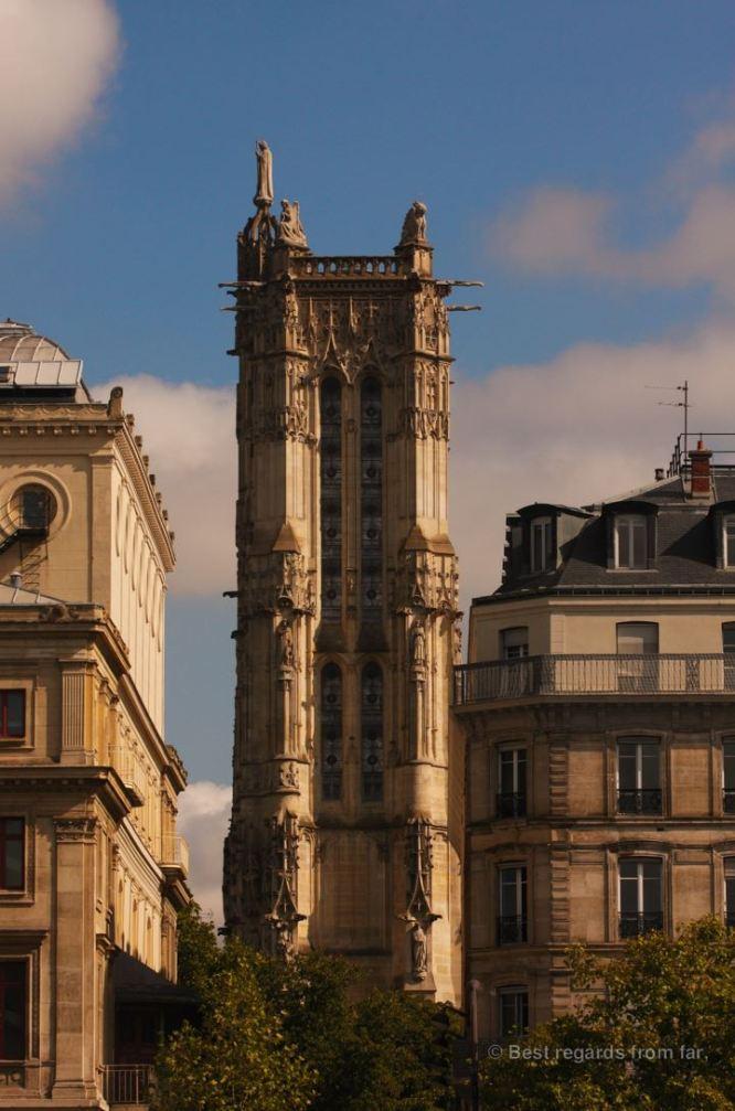 Saint Jacques Tower, still standing