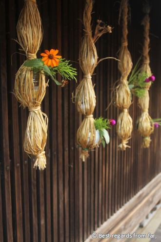 Traditional decorations, Tsumago