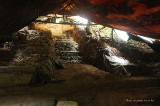 Excavations are still undergoing at El Mirador