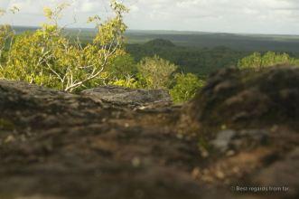 El Tigre from the top of La Danta